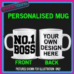 NUMBER 1 NO.1 BOSS MANAGER NOVELTY COFFEE MUG GIFT